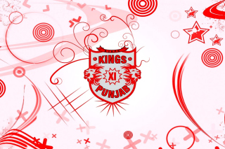Kings Xi Punjab Background for 1280x800