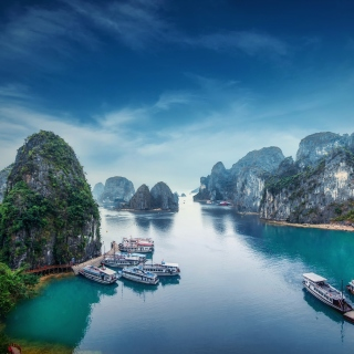 Hạ Long Bay Vietnam Attractions sfondi gratuiti per iPad mini