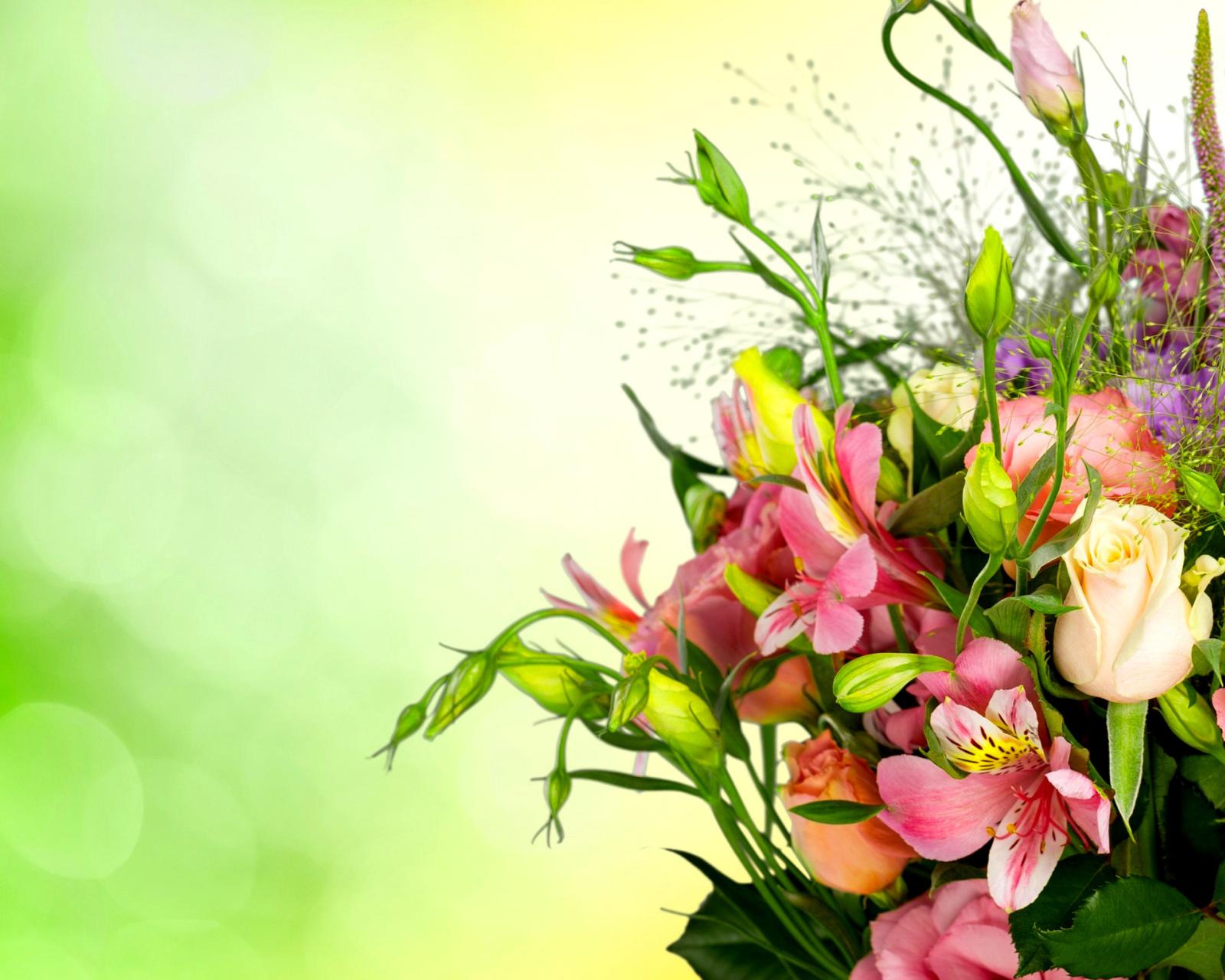 Красивые слова на открытку для цветов, легким