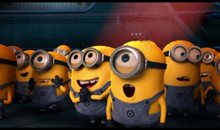 Despicable Me Cartoon Wallpaper for Android, iPhone and iPad