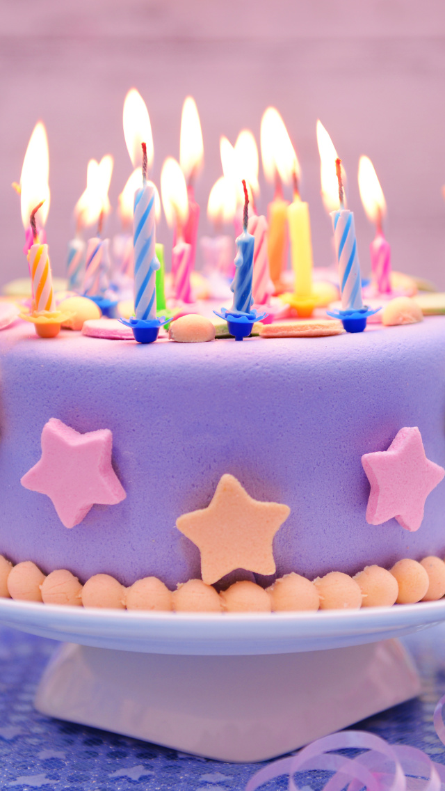 Screenshot №1 pro téma Happy Birthday Cake 640x1136