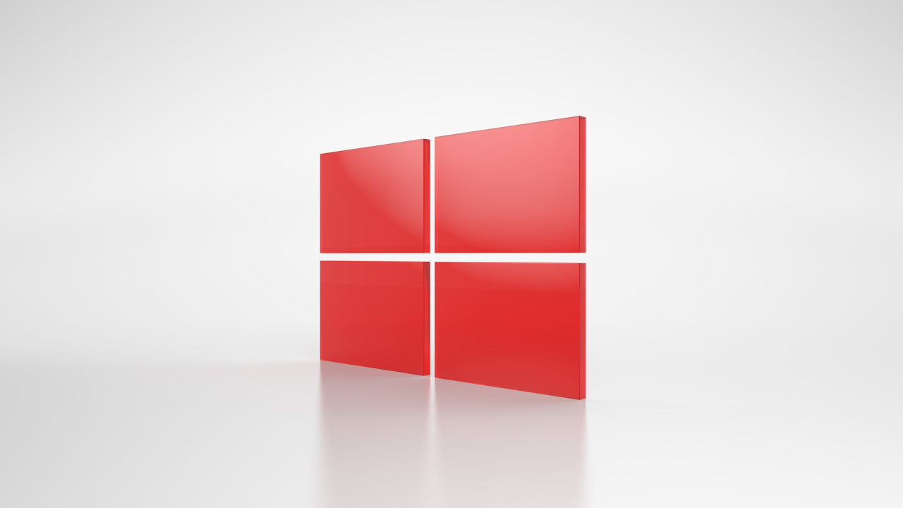 Screenshot №1 pro téma Windows Red Emblem 1280x720