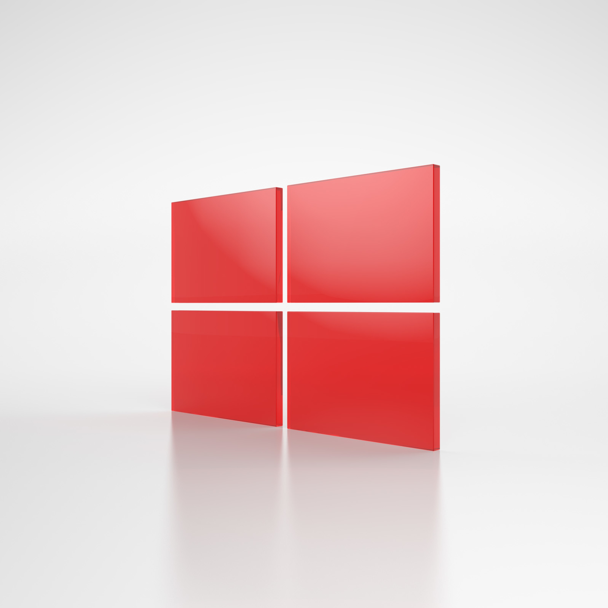 Screenshot №1 pro téma Windows Red Emblem 2048x2048