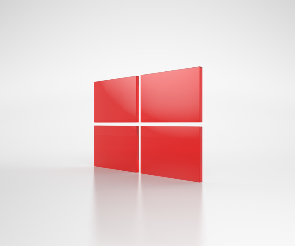 Screenshot №1 pro téma Windows Red Emblem 960x800
