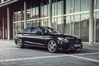 Mercedes C-Klasse W205 Tuning Wallpaper for Android, iPhone and iPad