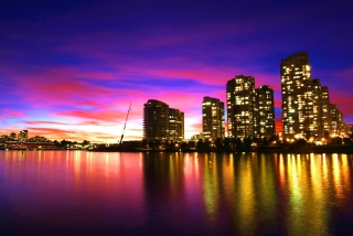 Vancouver Sunset Canada sfondi gratuiti per cellulari Android, iPhone, iPad e desktop
