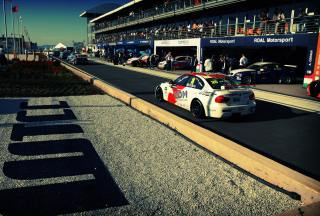 Bmw Racing Background for Android, iPhone and iPad