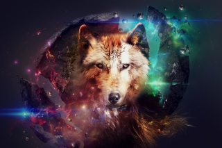Free Magic Wolf Picture for Android, iPhone and iPad