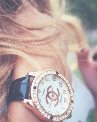Chanel Watch papel de parede para celular para Nokia C-Series