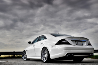 Mercedes CLS 63 Amg Picture for Android, iPhone and iPad