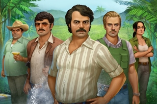 Narcos TV Crime Television Series Background for Android, iPhone and iPad