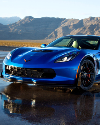 Chevrolet Corvette Z06 sfondi gratuiti per iPhone 6 Plus