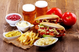 Hot Dog Sandwich sfondi gratuiti per cellulari Android, iPhone, iPad e desktop