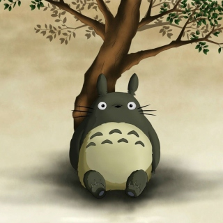 My Neighbor Totoro Anime Film papel de parede para celular para iPad 3