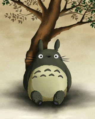 My Neighbor Totoro Anime Film sfondi gratuiti per iPhone 4S