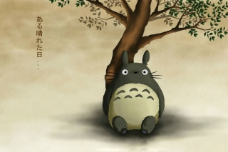 Free My Neighbor Totoro Anime Film Picture for HTC Desire HD