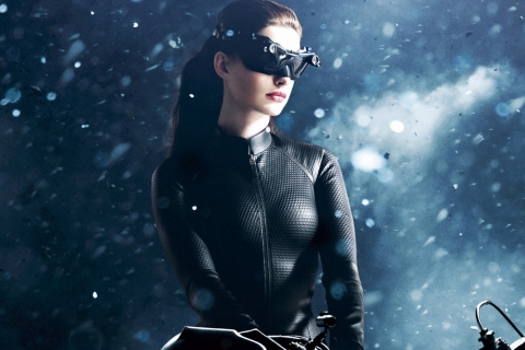 Screenshot №1 pro téma Catwoman Anne Hathaway 480x320