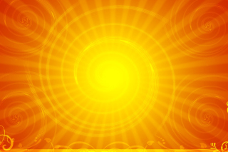 Vector Sun Rays Wallpaper for HTC EVO 4G