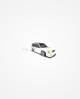 Subaru Forester Sf5 Wallpaper for Nokia C-5 5MP