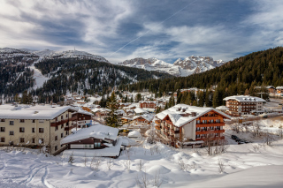 Madonna di Campiglio in Trentino Wallpaper for Android, iPhone and iPad