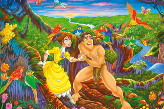 Tarzan, Lord of the Jungle Background for Android, iPhone and iPad