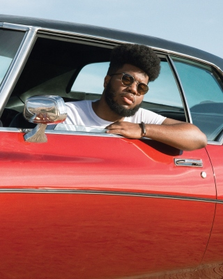 Khalid RB Singer Background for 480x640