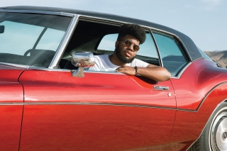 Khalid RB Singer Wallpaper for HTC Desire HD