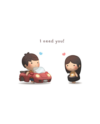 I need you sfondi gratuiti per iPhone 4S