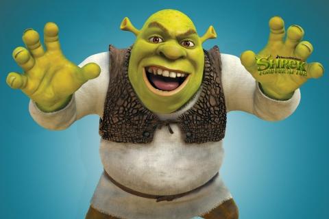 Shrek para Sony Ericsson XPERIA X10 mini pro