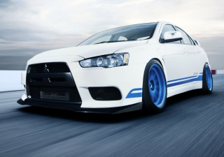 Mitsubishi Evo Wallpaper for Android, iPhone and iPad