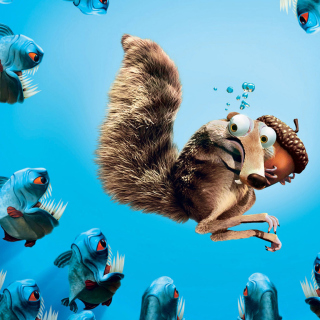 Scrat Ice Age Background for 208x208