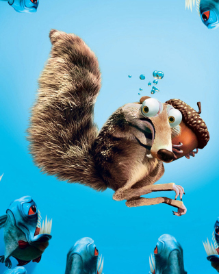 Scrat Ice Age Wallpaper for Nokia Asha 308