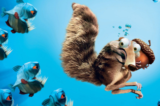 Scrat Ice Age Picture for Android, iPhone and iPad