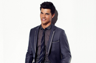 Taylor Lautner Smile Wallpaper for Android, iPhone and iPad