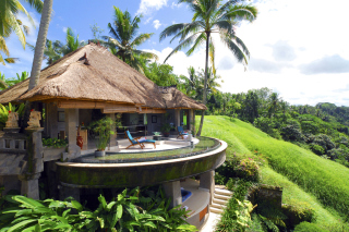 Kostenloses Resort Ubud Tropical Garden Wallpaper für Android, iPhone und iPad