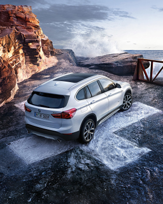 BMW X1 Wallpaper for iPhone 6 Plus
