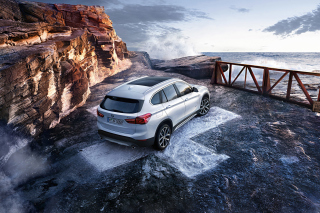 BMW X1 Wallpaper for Android 480x800