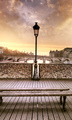 Bench In Paris for Samsung SGH-T528G