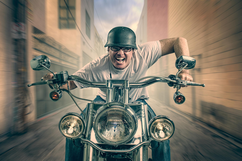 Открытка, прикольные картинки с мотоциклами