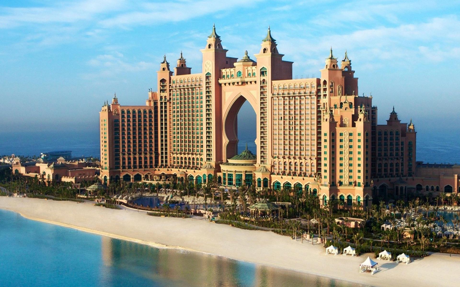 Hotel Atlantis UAE para Widescreen Desktop PC 1920x1080 Full HD
