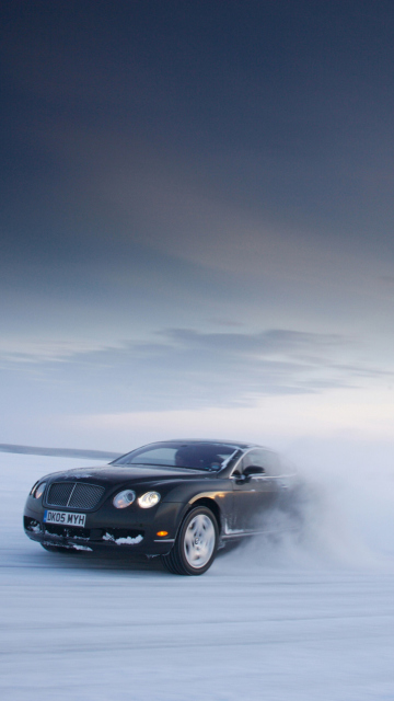 Screenshot №1 pro téma Bentley Continental GT 360x640
