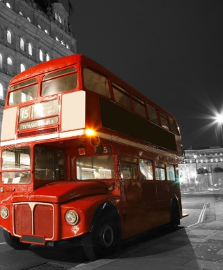 Red London Bus sfondi gratuiti per HTC Titan