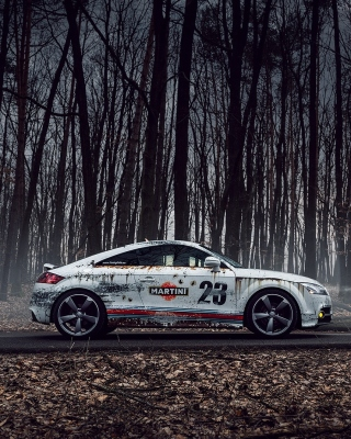 Audi TT Rally Wallpaper for Nokia C5-06
