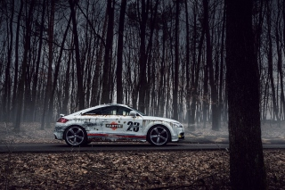 Audi TT Rally Wallpaper for Android, iPhone and iPad