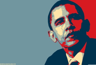 Barack Obama Art Wallpaper for Android, iPhone and iPad