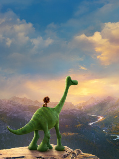 Screenshot №1 pro téma The Good Dinosaur 240x320