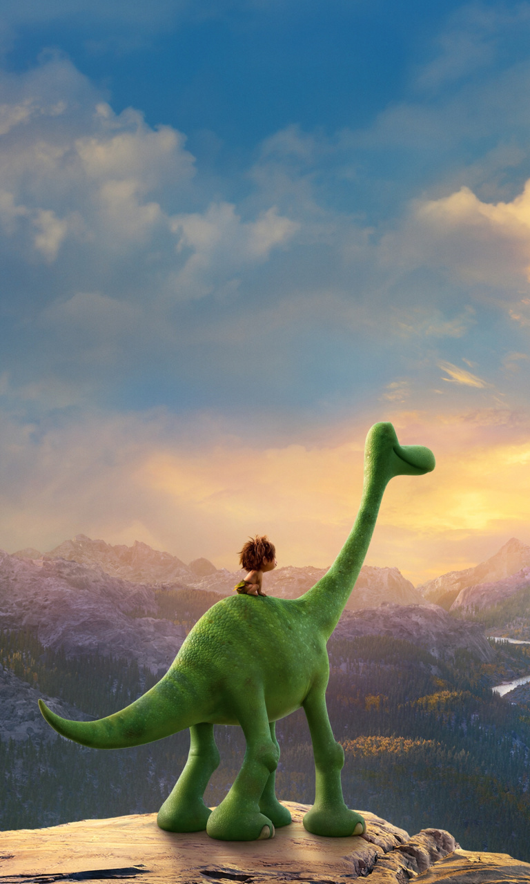 Sfondi The Good Dinosaur 768x1280