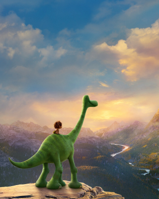 Kostenloses The Good Dinosaur Wallpaper für iPhone 5