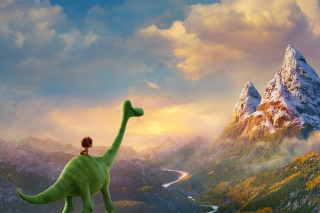 Kostenloses The Good Dinosaur Wallpaper für Android 320x480