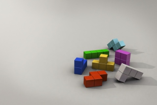 Tetris 3D Picture for Android, iPhone and iPad